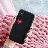 ShieldCase hoesje met hartje iPhone Xr