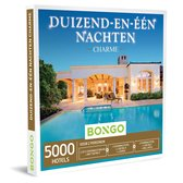 Bongo Bon Nederland - Duizend-en-één Nachten Charme Cadeaubon - Cadeaukaart cadeau voor man of vrouw | 5000 charmante hotels