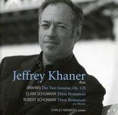 Brahms/Schumann Sonatas