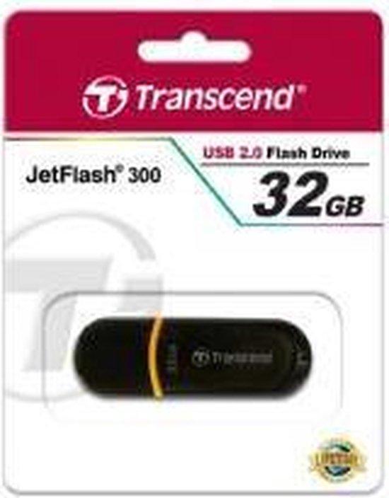 Transcend JetFlash elite 8GB JetFlash 8GB USB 2.0 Zwart USB flash drive - Transcend