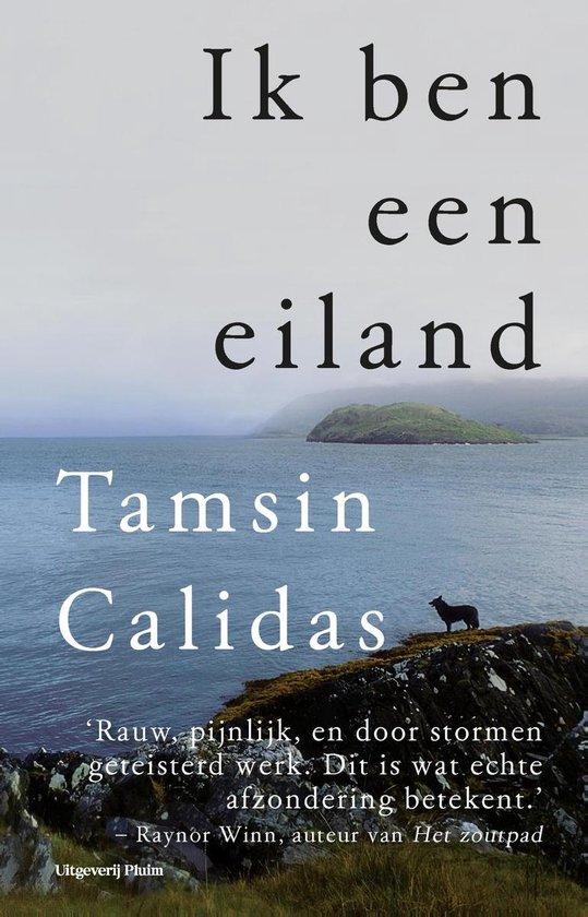 Boek cover Ik ben een eiland van Tamsin Calidas (Onbekend)