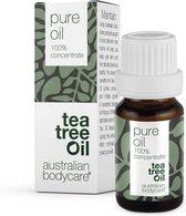 Australian Bodycare Pure Tea Tree Olie 10 ml - 100% puur natuurlijke Tea Tree Olie uit Australië tegen huidproblemen - Houdt de goede flora op de huid in balans - Effectief bij jeugdpuistjes en pukkeltjes