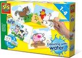 SES Kleuren met water - Hobbypakket - Boerderij dieren - Knutselen voor kinderen