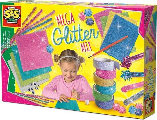SES Mega Glitter Mix knutselset