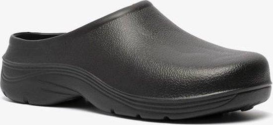Heren tuinklompen zwart - Zwart - Maat 43 - Clogs