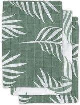 Jollein Hydrofiel washandje Nature ash green (3pack)
