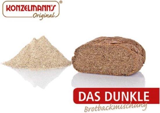 Konzelmann's Low Carb Broodbakmix Donker
