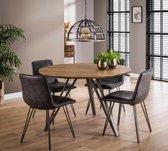 Ronde tafel Chance 120 cm - Inclusief Montage