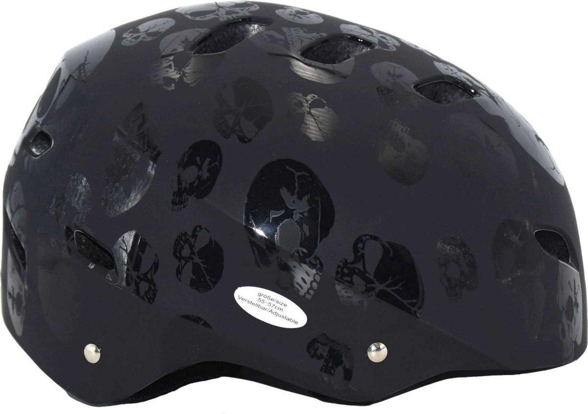 Volare Skatehelm - Skull - 55-57 cm - Jongens en Meisjes