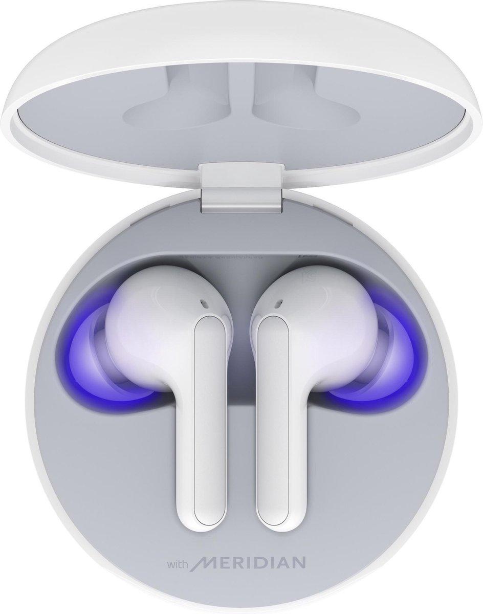 LG TONE Free FN6 - Volledig draadloze oordopjes - Wit