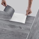 PVC laminaat zelfklevend set van 42 Grey Alaska 5,85 m²