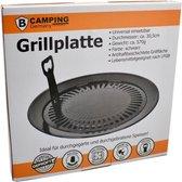 Universele Grillplaat  - Grillopzetstuk Ø30,5 cm BBQ  voor Camping gasfornuis