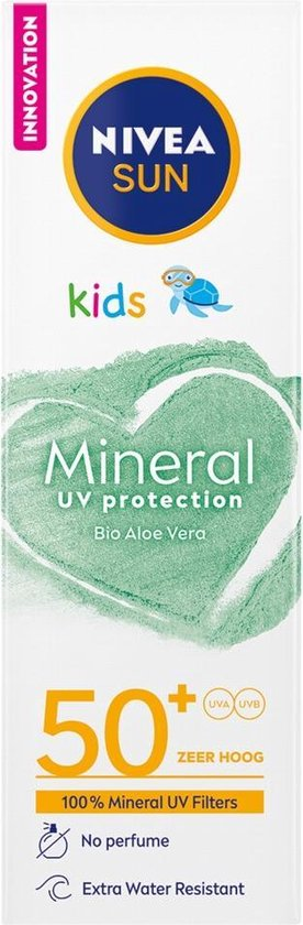NIVEA SUN KIDS MINERAL UV Protection Lotion SPF50+ - 50ML