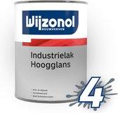 Wijzonol Industrielak Hoogglans, Wit - 475ml