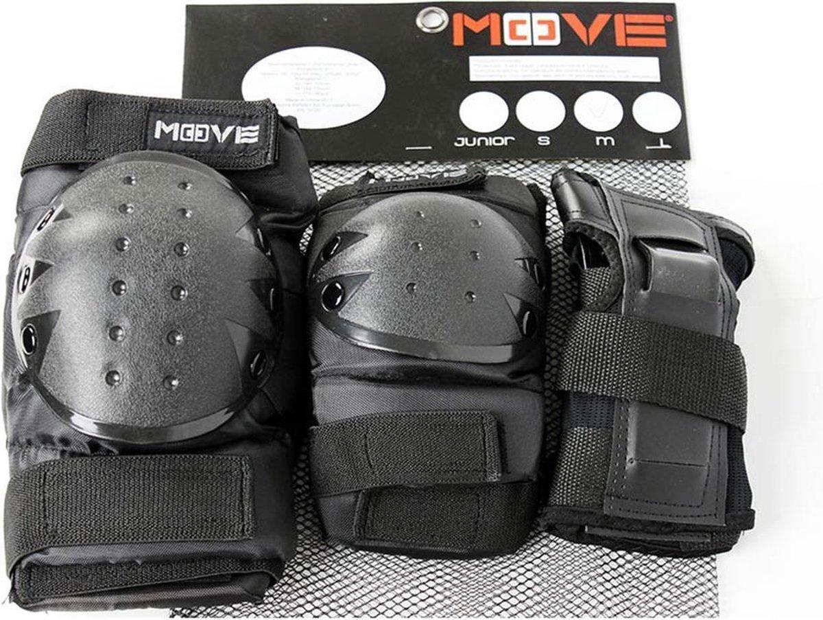 Beschermset Move - Zwart - Senior