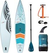 """Moai 12'6"""" Touring SUP Board - Supboard Opblaasbaar - Inflatable"""