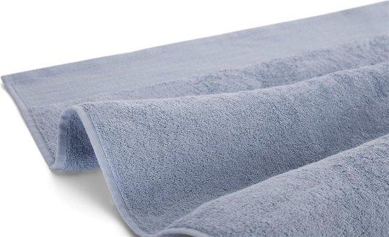 Walra Badgoedset - 10-delig - 10x 60x110 - 100% katoen - Blauw - Walra
