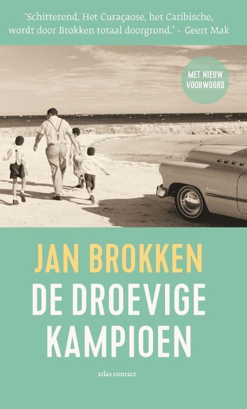 Boek cover De droevige kampioen van Jan Brokken (Hardcover)
