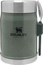Stanley The Legendary Food Jar met Spork 400ml - Thermosfles - Hammertone Green