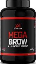 XXL Nutrition Mega Grow - Post Workout met Creatine - Tropische vruchten 2000 gram
