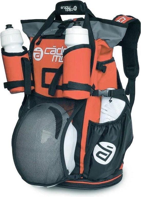 Cádomotus Versatile - Veelzijdige Waterdichte Sportrugtas 40L + 15L met Drybag - Voor o.a. Triathlon, MTB en Fietsen - Rood