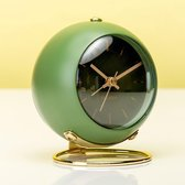 Karlsson Globe - Wekker - Ijzer - 9,5cm - Groen
