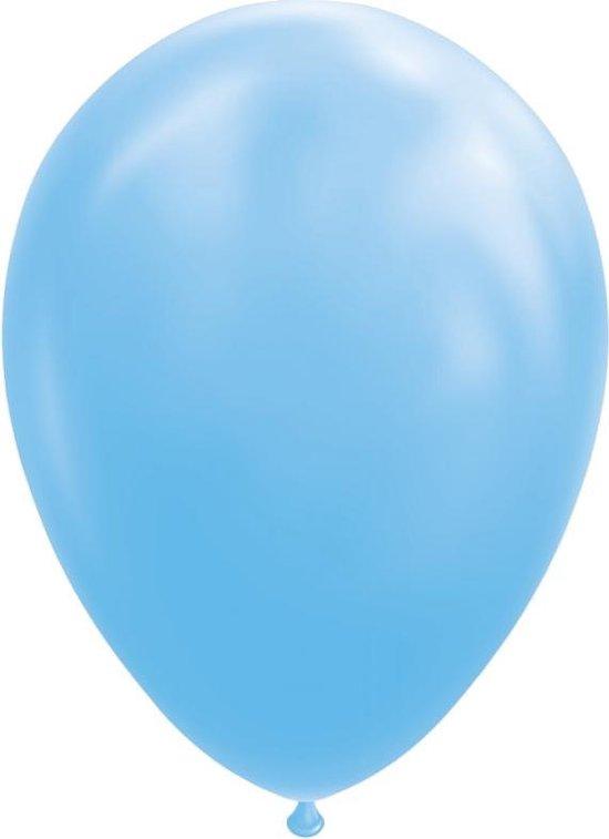 Wefiesta Ballonnen 30 Cm Latex Lichtblauw 25 Stuks