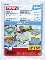 tesa® Afdekfolie Universal - afdekken van grote oppervlakken tijdens schilder- en renovatiewerken, 4m:5m