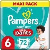 Pampers Baby Dry Pants maat 6 - 72 stuks