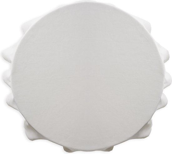 Today Rond tafelkleed - Ø180cm - Polyester - Wit
