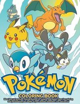 Boek cover Pokemon Coloring Book van Lello Coloring