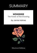 SUMMARY - Nonsense :