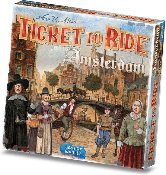 Afbeelding van Ticket to Ride Amsterdam - Bordspel speelgoed