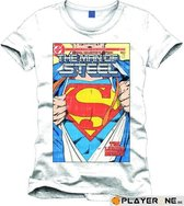 SUPERMAN - T-Shirt The Man of Steel Retro Collector (S)