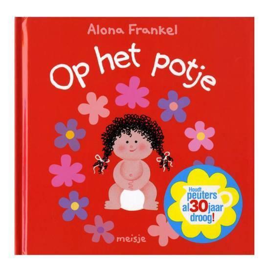 Boek cover Op het potje van Alona Frankel (Hardcover)