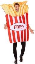 Smiffys Kostuum French Fries Rood/Geel