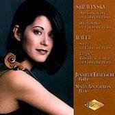Igor Stravinski: Duo Concertanti; Divertimento; Ravel: Sonata for Violin and Piano; Tzigane; Rhapsodie de Concert