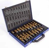 Hanse Werkzeuge® HSS borenset 230-delig - titanium coating
