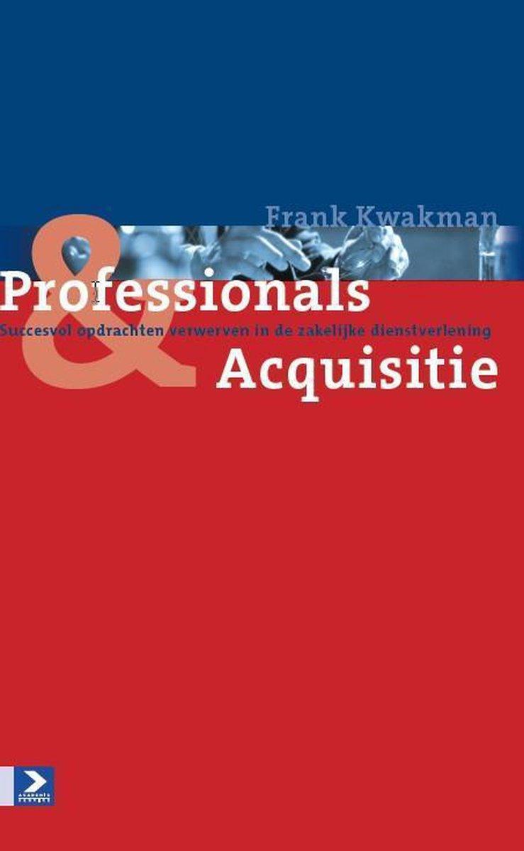Pofessionals & acquisitie
