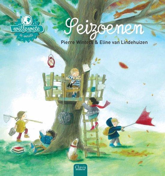 Boek cover Willewete  -   Seizoenen van Pierre Winters (Hardcover)