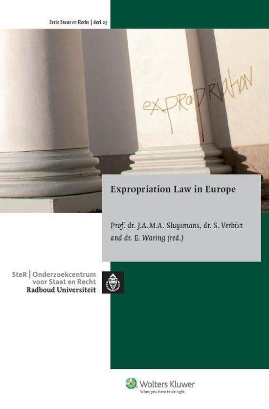 Omslag van Expropiation law in Europe