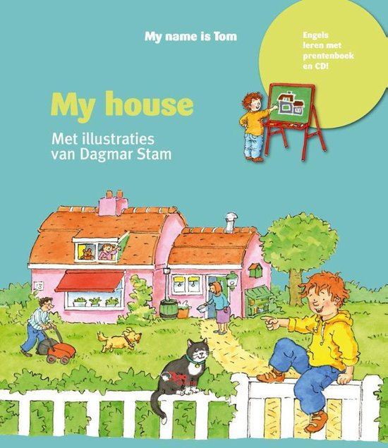 My name is Tom  -   My house