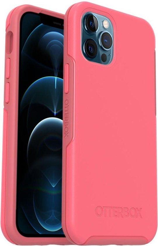 OtterBox Symmetry Plus hoesje met MagSafe voor Apple iPhone 12 Pro Max - Roze