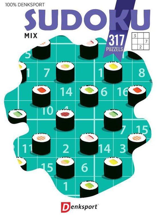 Afbeelding van Denksport Sudoku Mix - puzzelboek