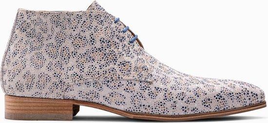 Paulo Bellini Boots Fano Leather Leopardo Raiado.