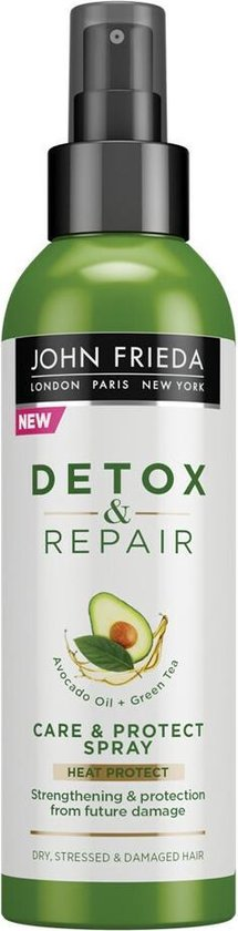 4x John Frieda Detox & Repair Protect Spray 250 ml