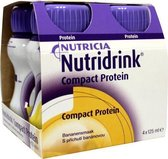 Nutridrink Compact Proteïne Banaan Shake - 4 x 125 ml - Drinkmaaltijd