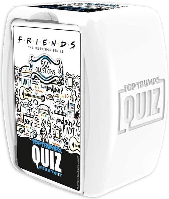 Afbeelding van het spel Top Trumps Friends Quiz 500 Vragen - Engels