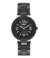 IKKI PAIGE PG03 Horloge - Zwart/Zilver