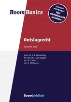 Boek cover Boom Basics  -   Boom Basics Ontslagrecht van Menno van Koppen (Paperback)
